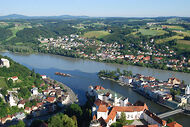 Panorama Hotel bei Passau in Bayern